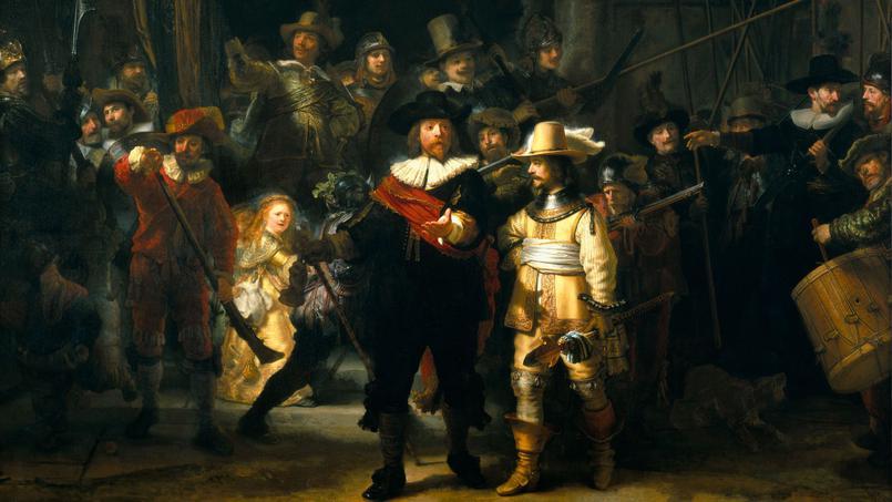 La Ronde de Nuit de Rembrandt Amsterdam