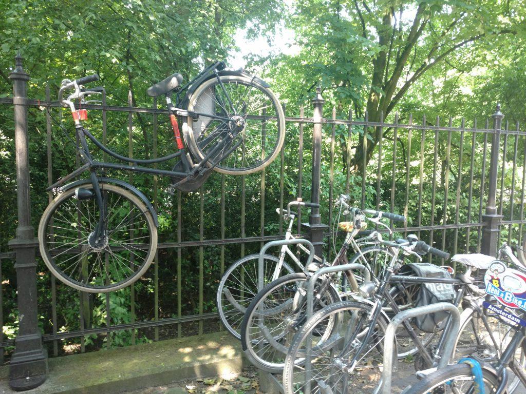 Week-end à Amsterdam à vélo Vondel Park