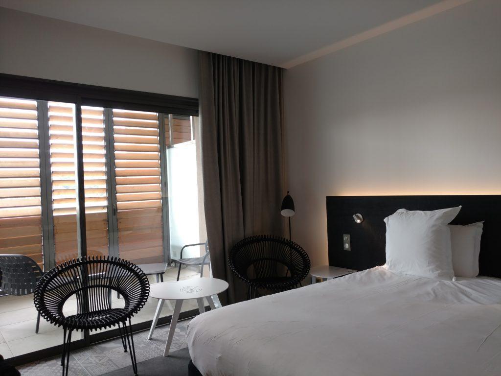 Vue chambre hotel intérieur