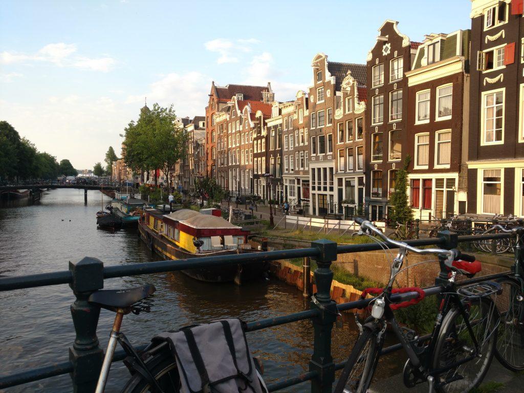 Week-end amoureux à Amsterdam