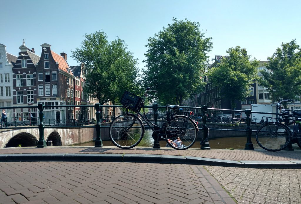 Week-end à vélo à Amsterdam