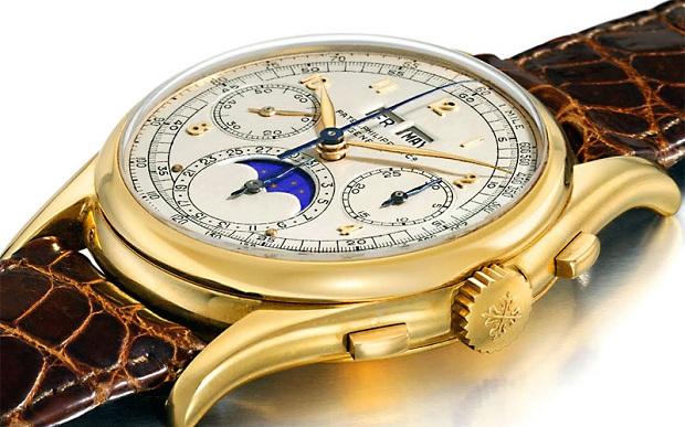 porter-montre-en-or