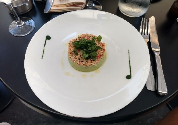 King Crab au restaurant Vingt-2