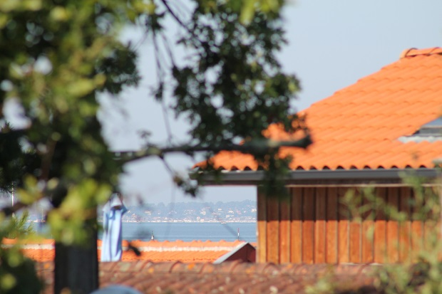 Toits bassin villa St Barth