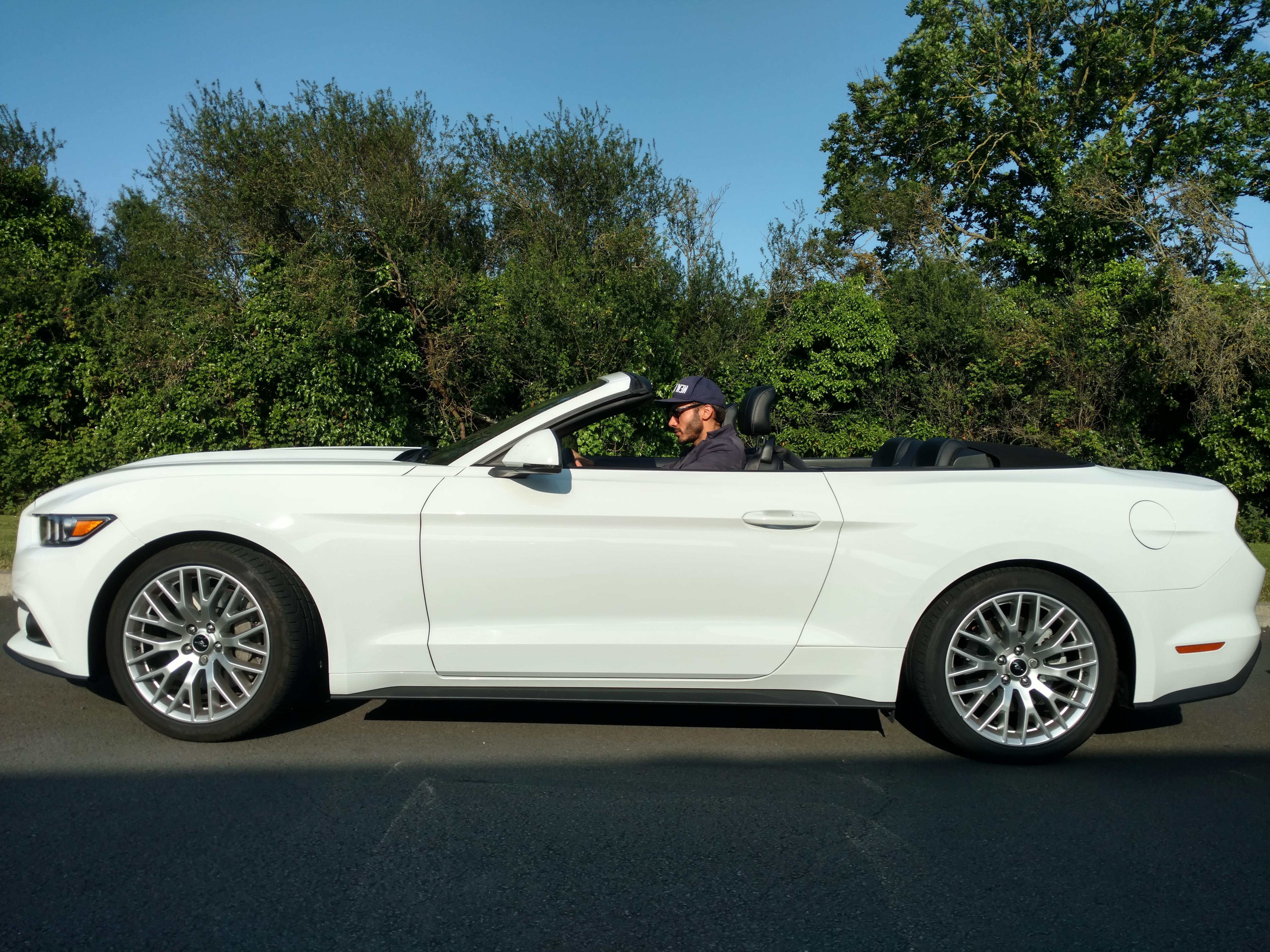 A la découverte de la Vendée en Ford Mustang GT