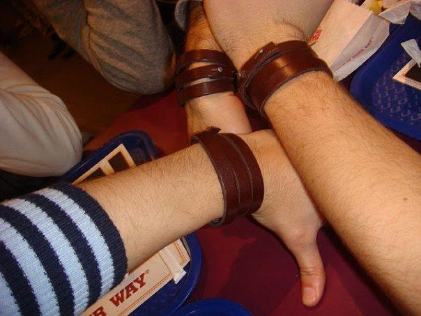 Bracelets en cuir homme