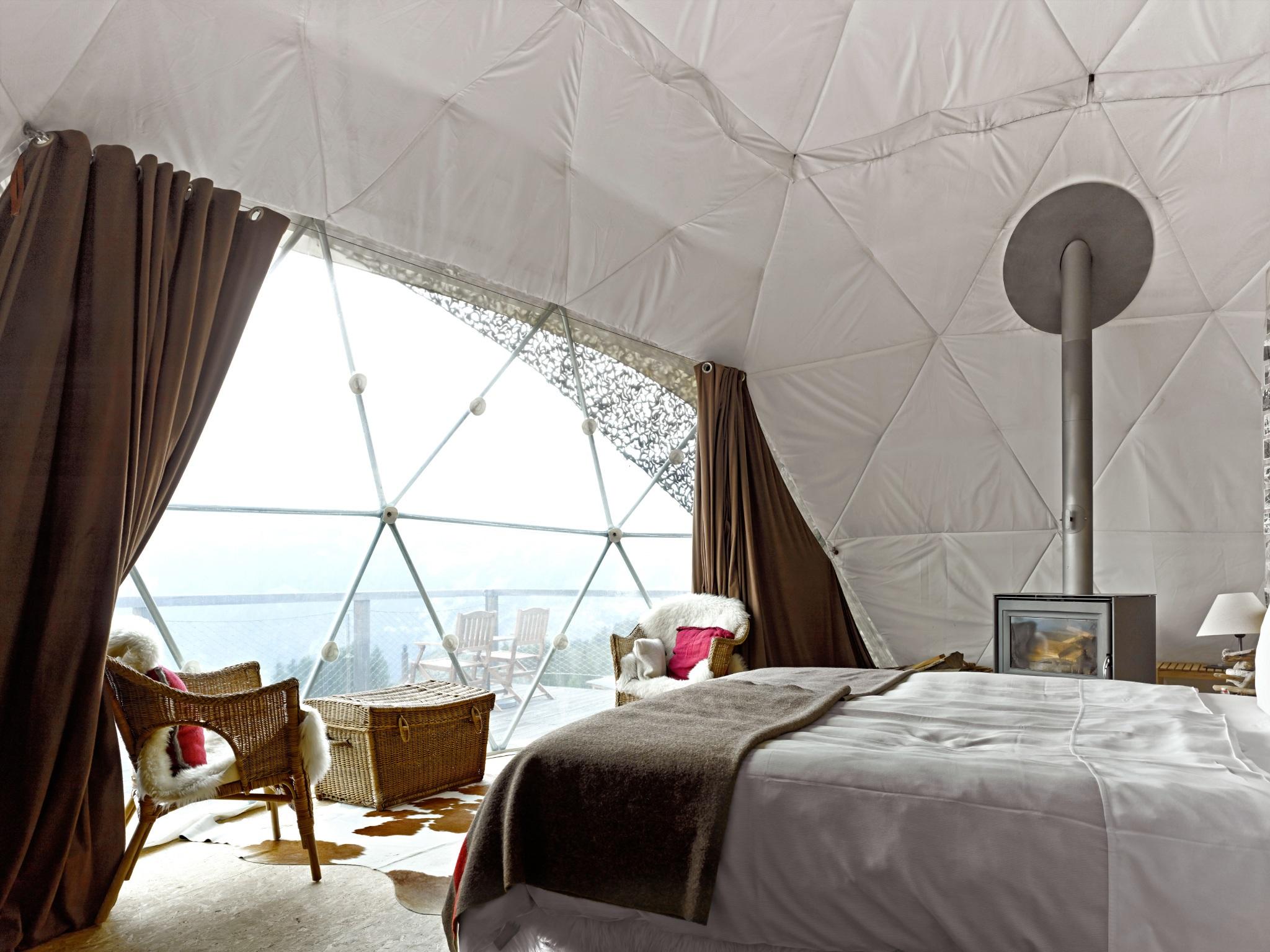 Whitepod hotel suisse