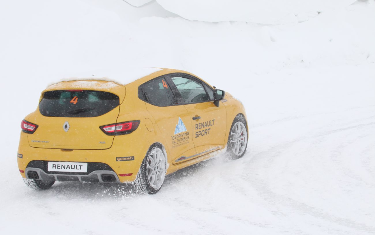 Ice Driving Val Thorens