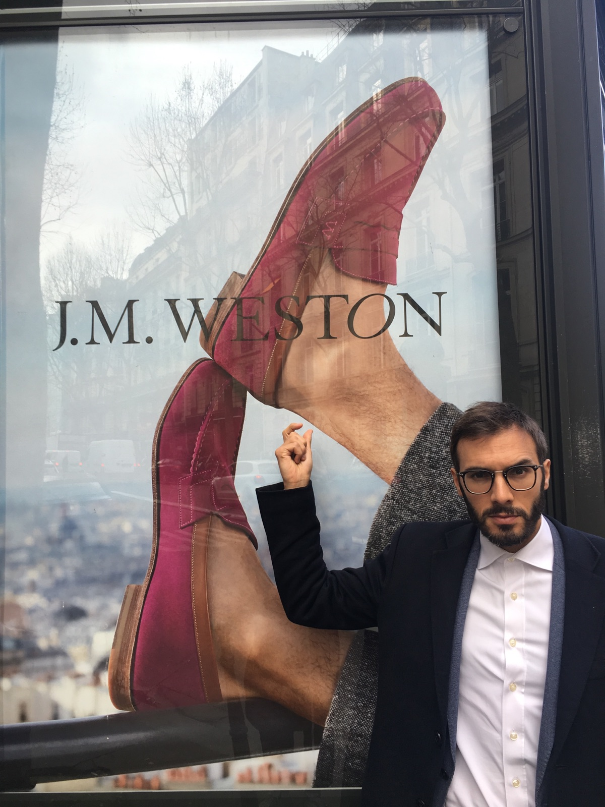 Omar Sy pour JM Weston