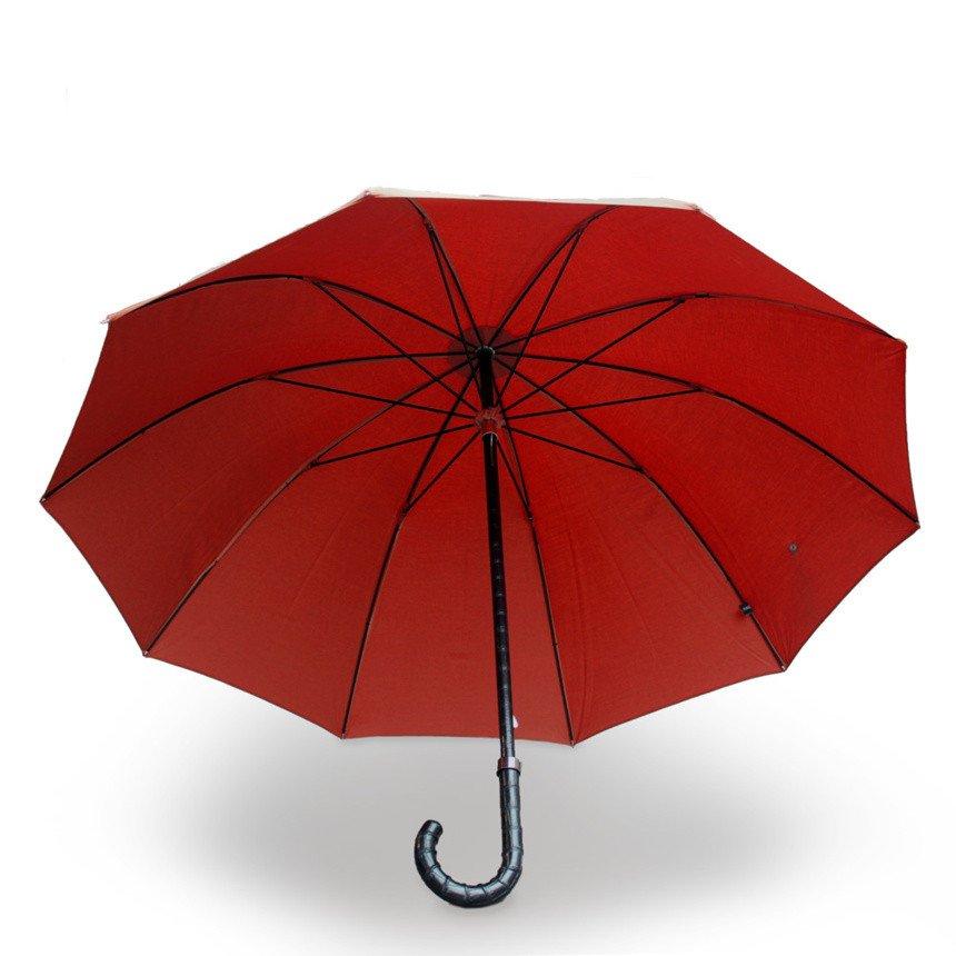 Un parapluie en cuir d'alligator