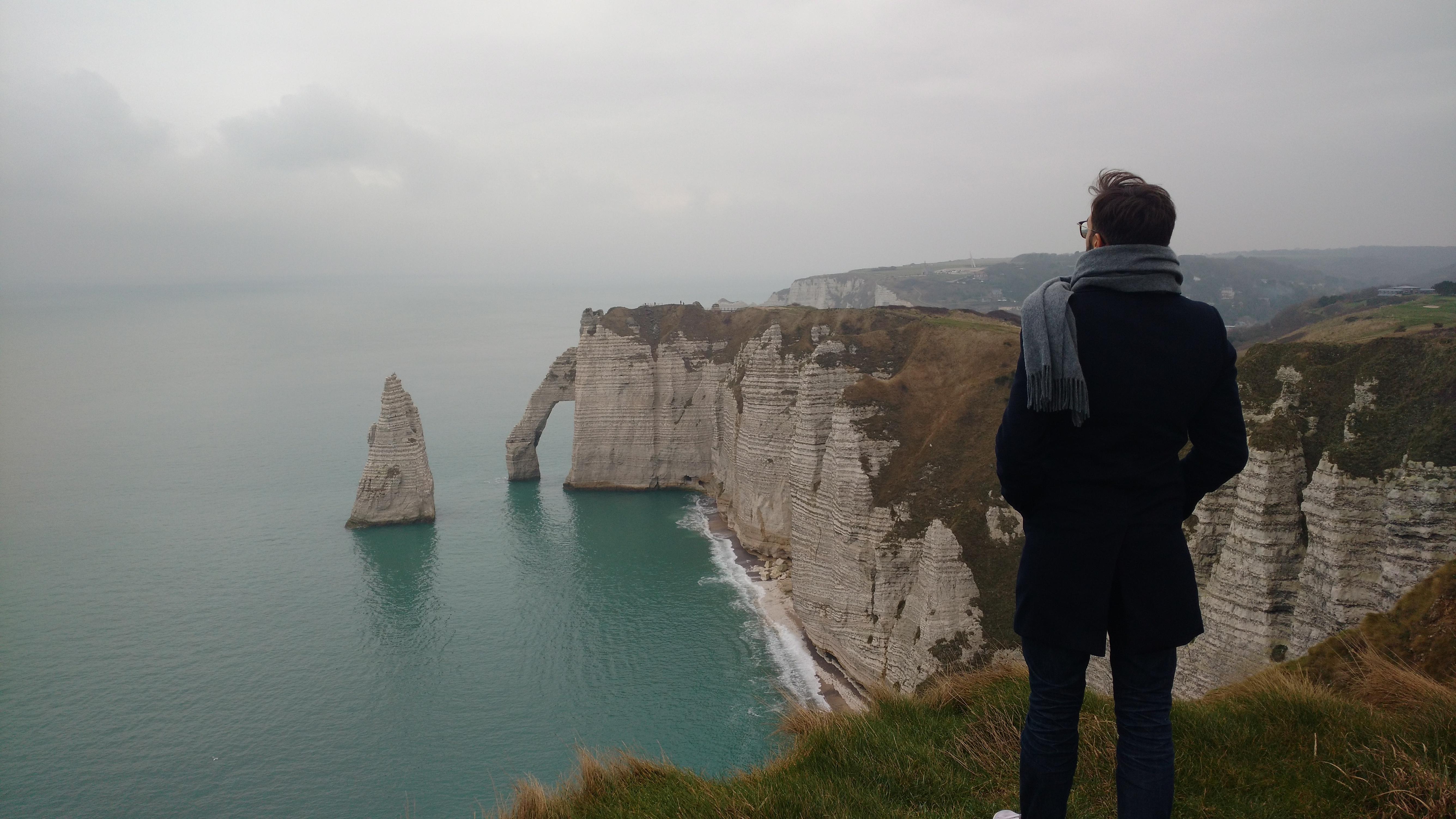 Aiguille Creuse Etretat Normandie