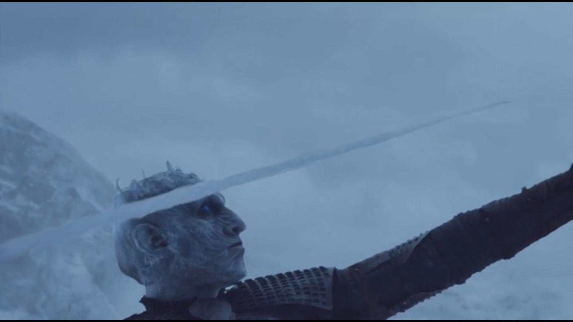 lance du night king Game of Thrones