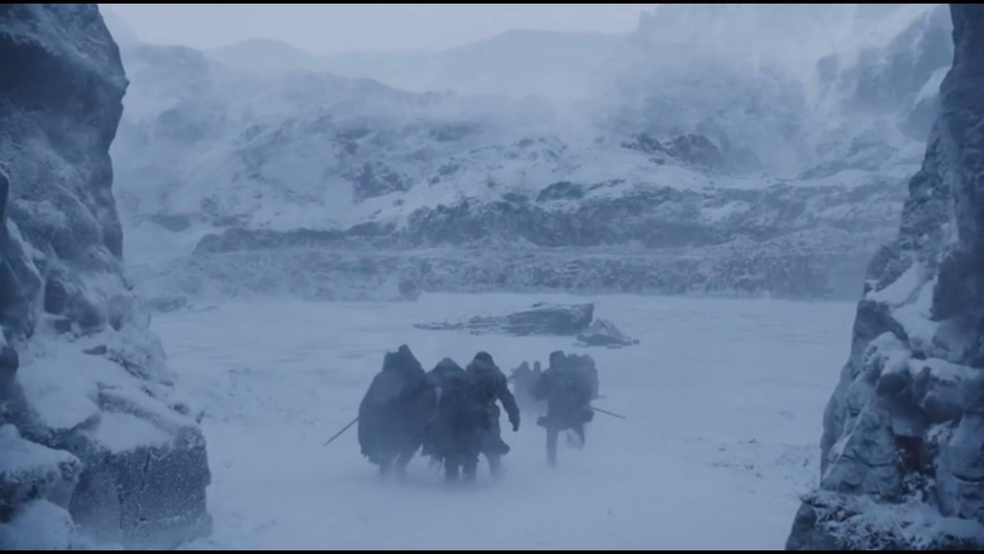 Encerclé par la glace S07E06