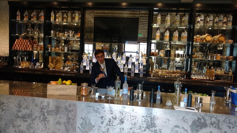 Sélim Niederhoffer barman