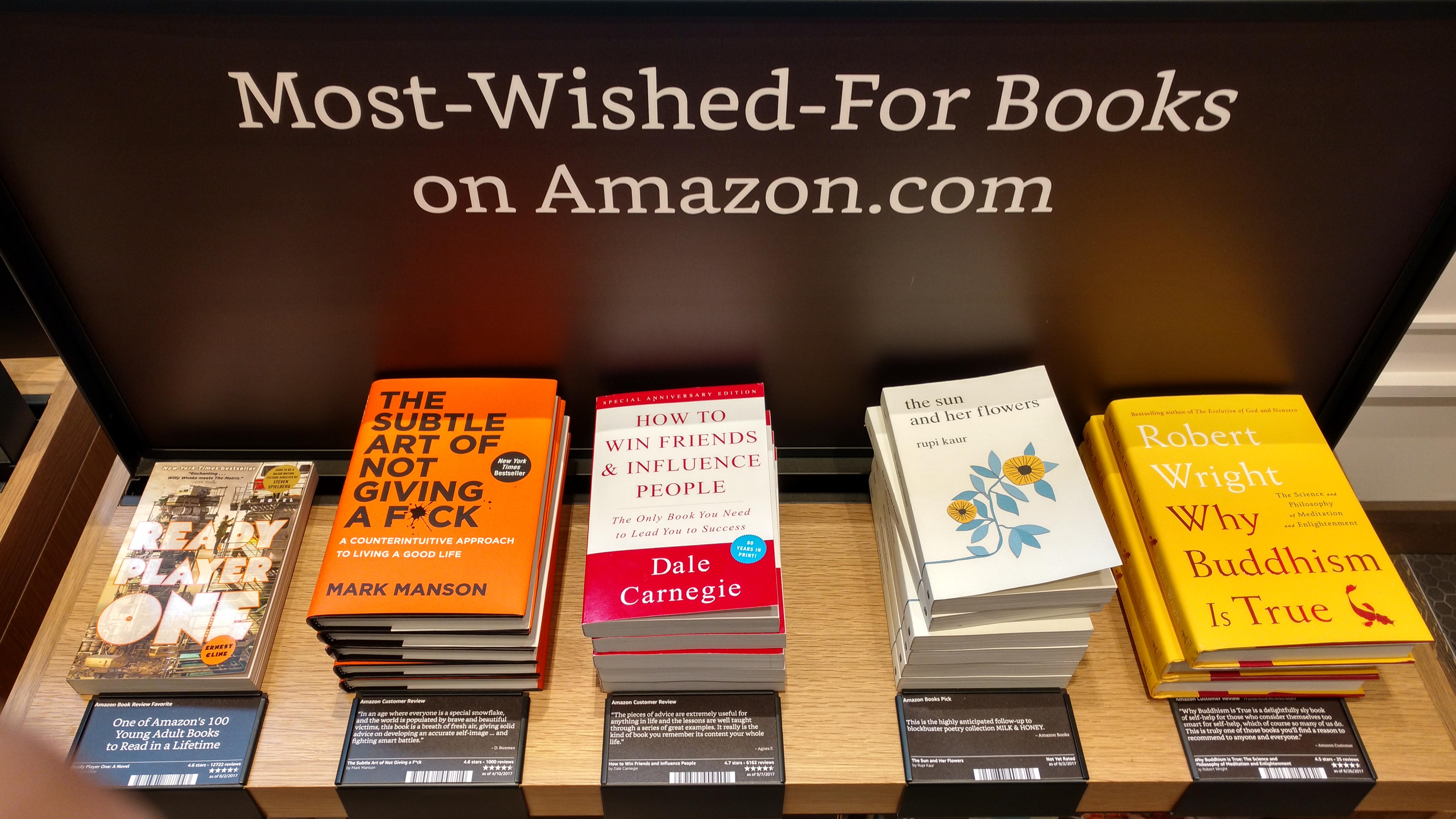 Librairie Amazon plus recherchés