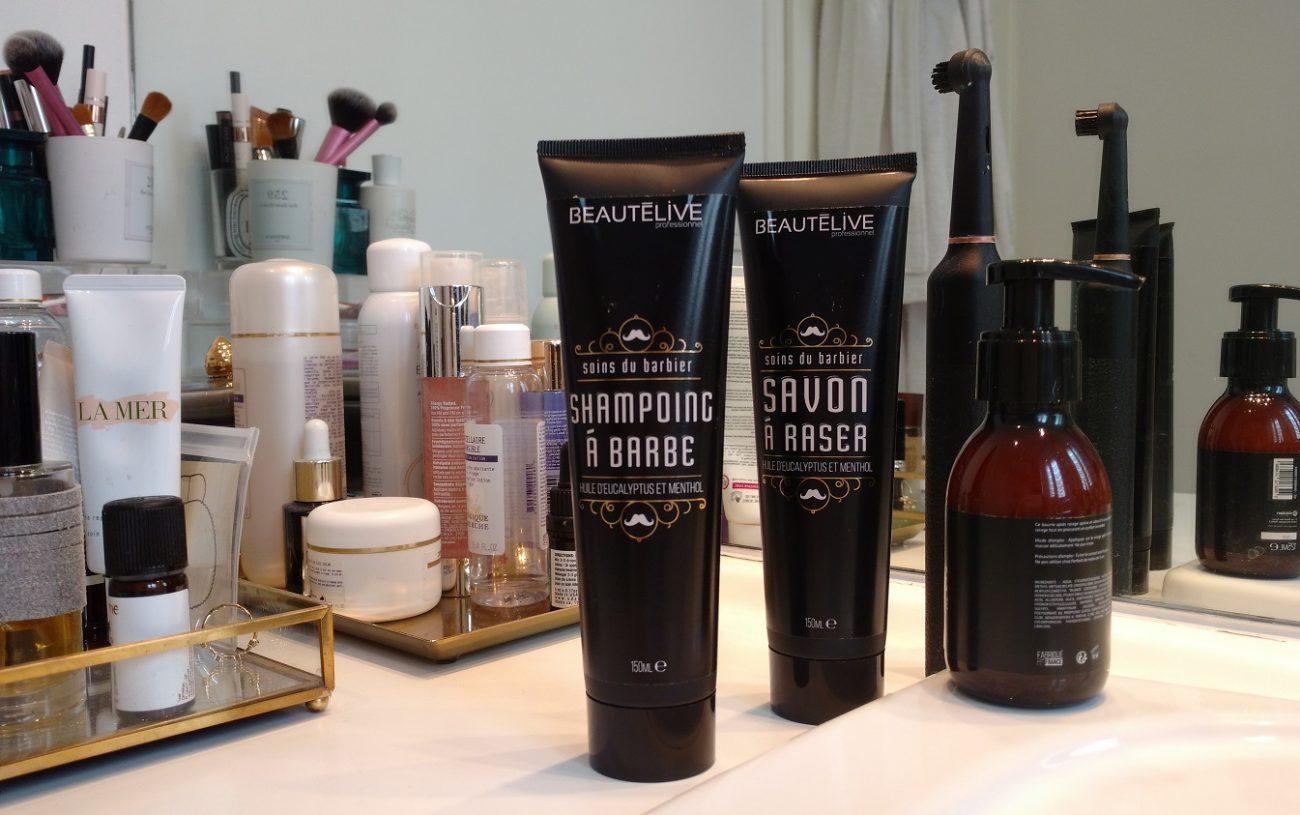 Test de la Gamme Pour Homme de Beautélive : Rasage et Soins pour la barbe