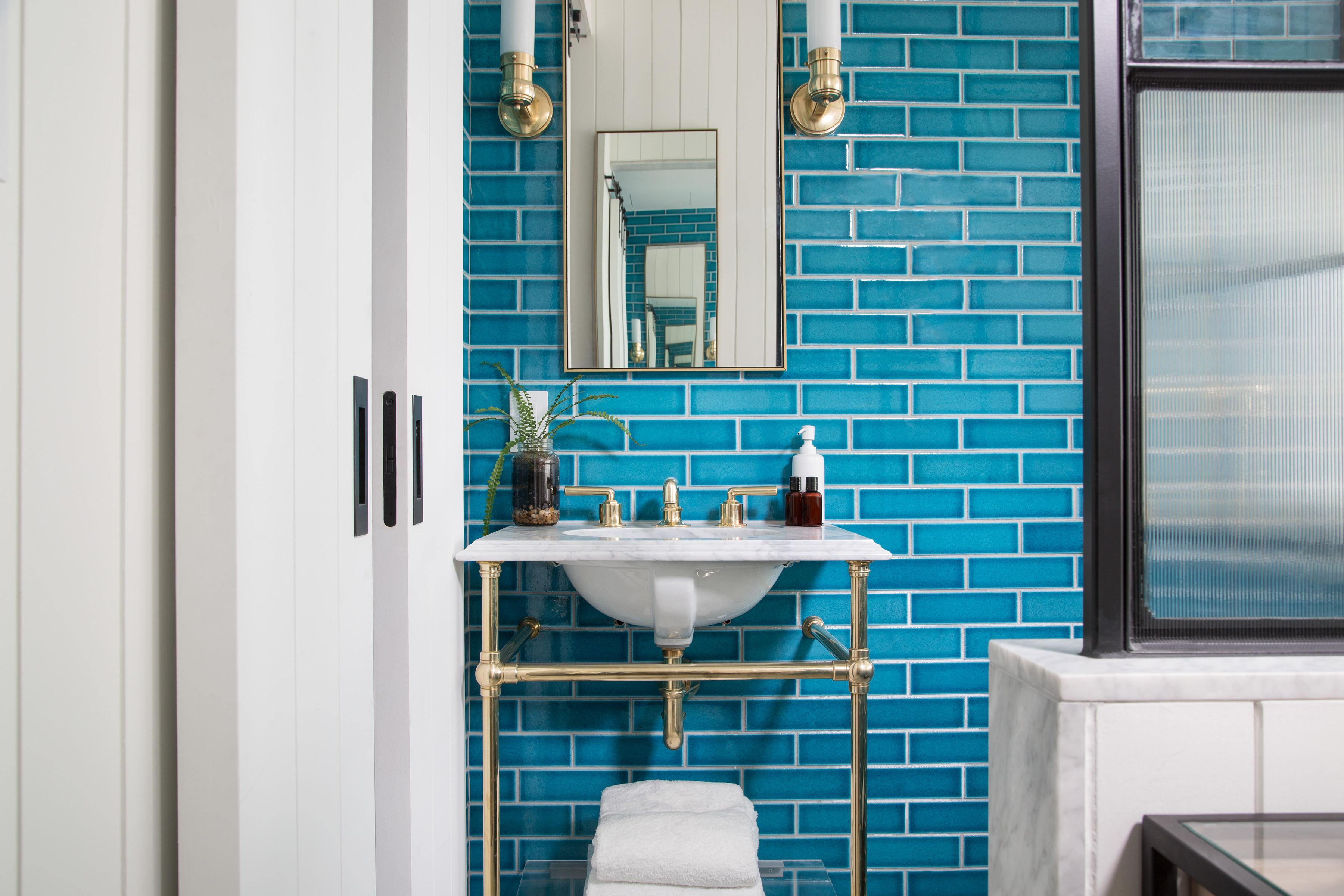 La salle de bain du Williamsburg Hotel