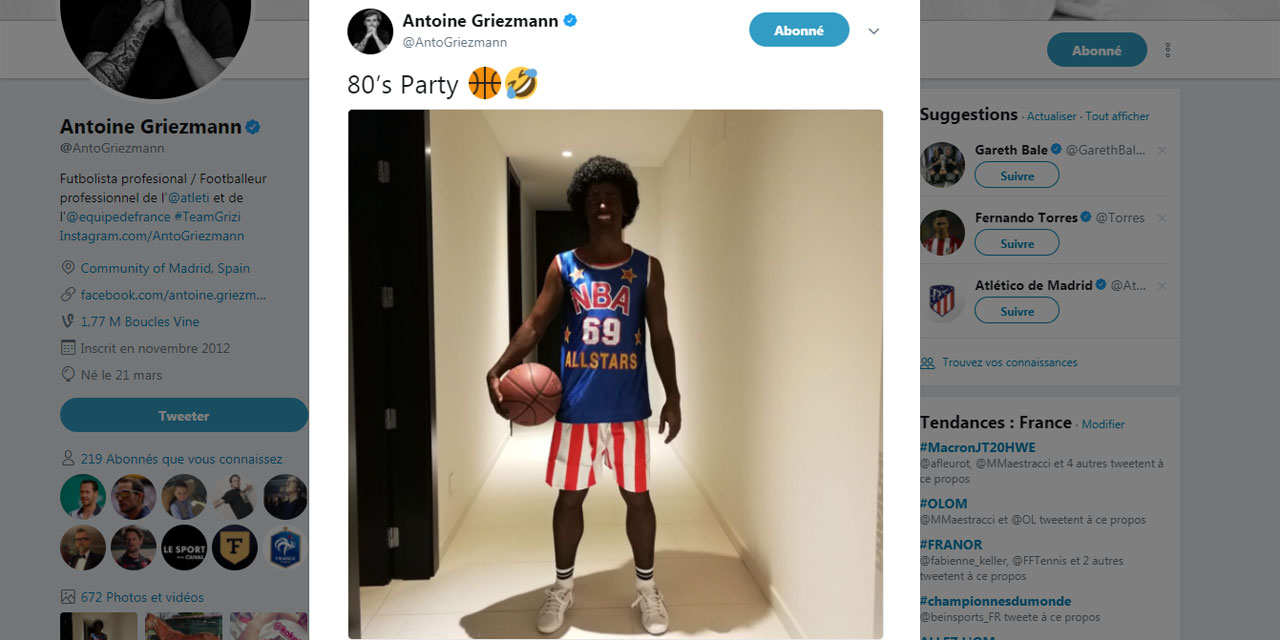 Antoine Griezmann Bad Buzz
