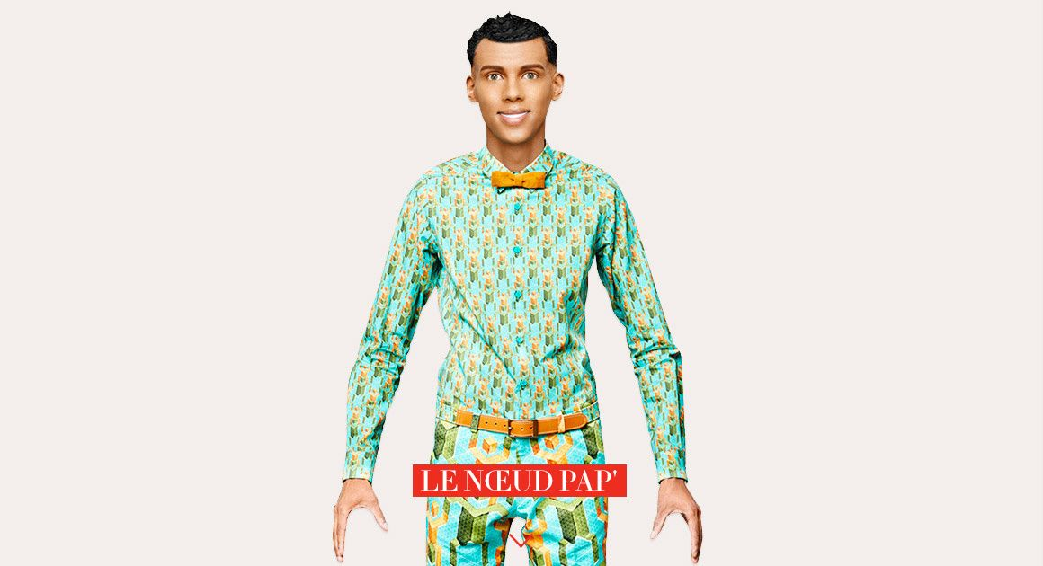Noeud Papillon accessoire masculin Stromae