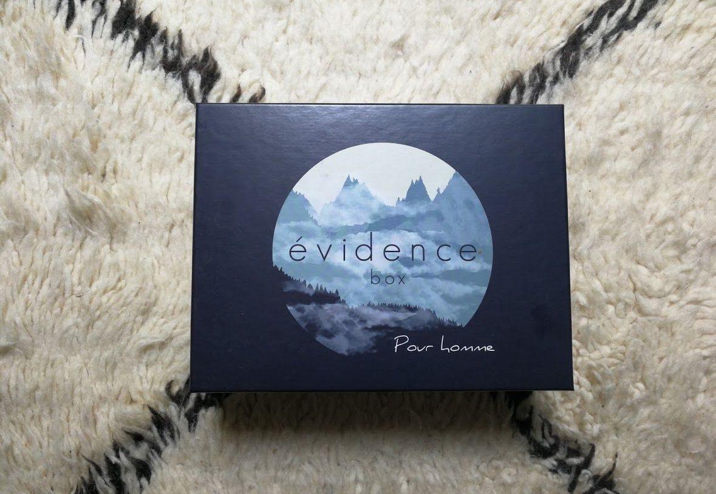 Evidence Box beauté bio pour homme
