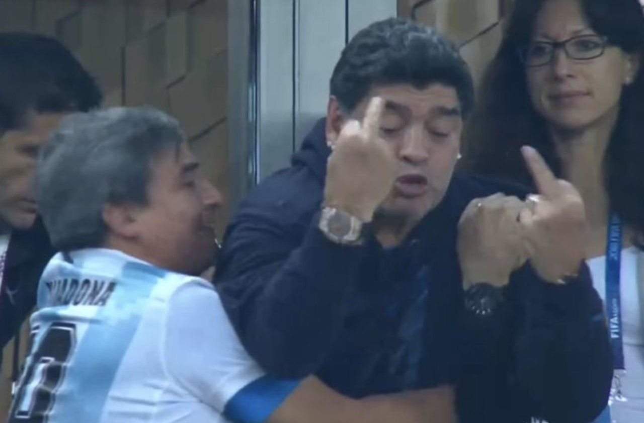 maradona citation foot