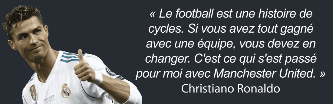 citation football Ronaldo