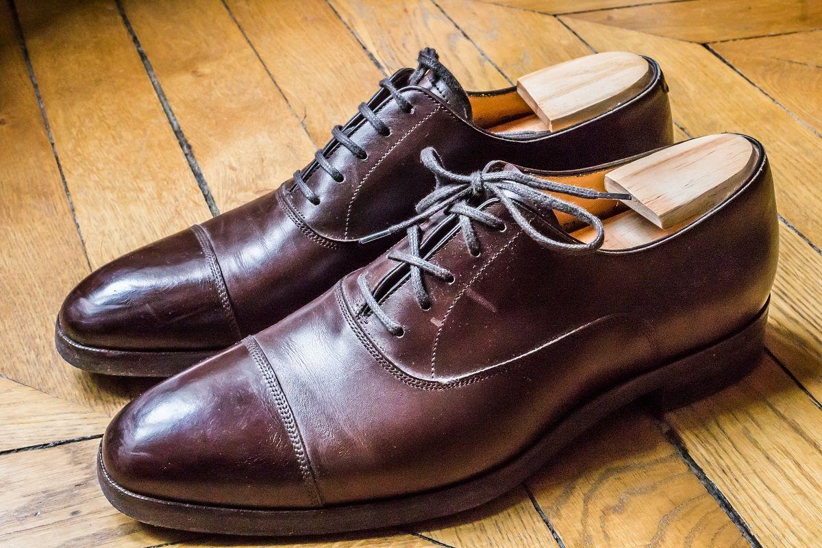 In Corio chaussures en cuir
