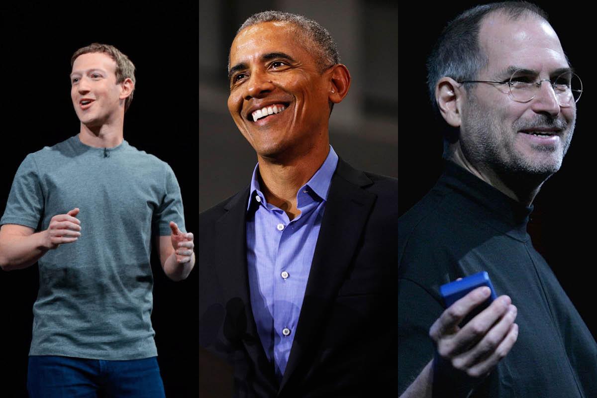 La Logique de Productivité Derrière le Style Vestimentaire de Zuckerberg, Obama et Jobs