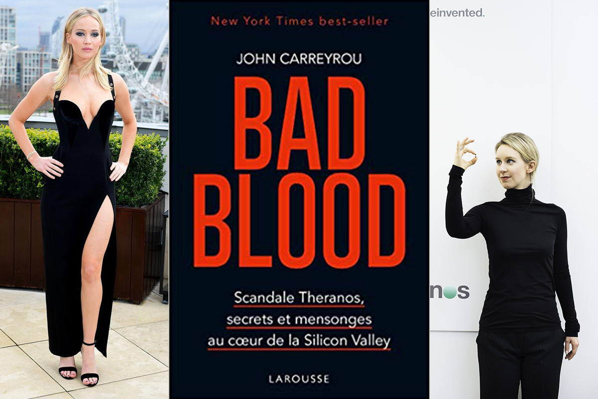 Bad Blood : Le Thriller Préféré de la Silicon Valley, de John  Carreyrou