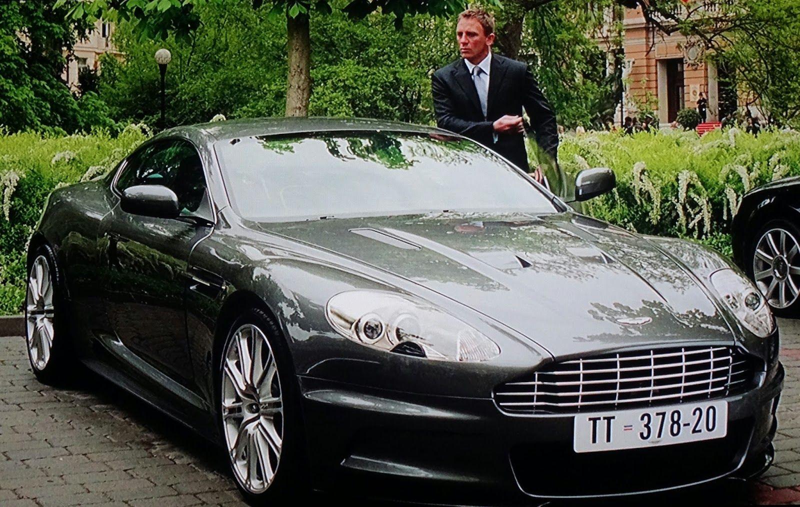 belle voiture 007 casino royale