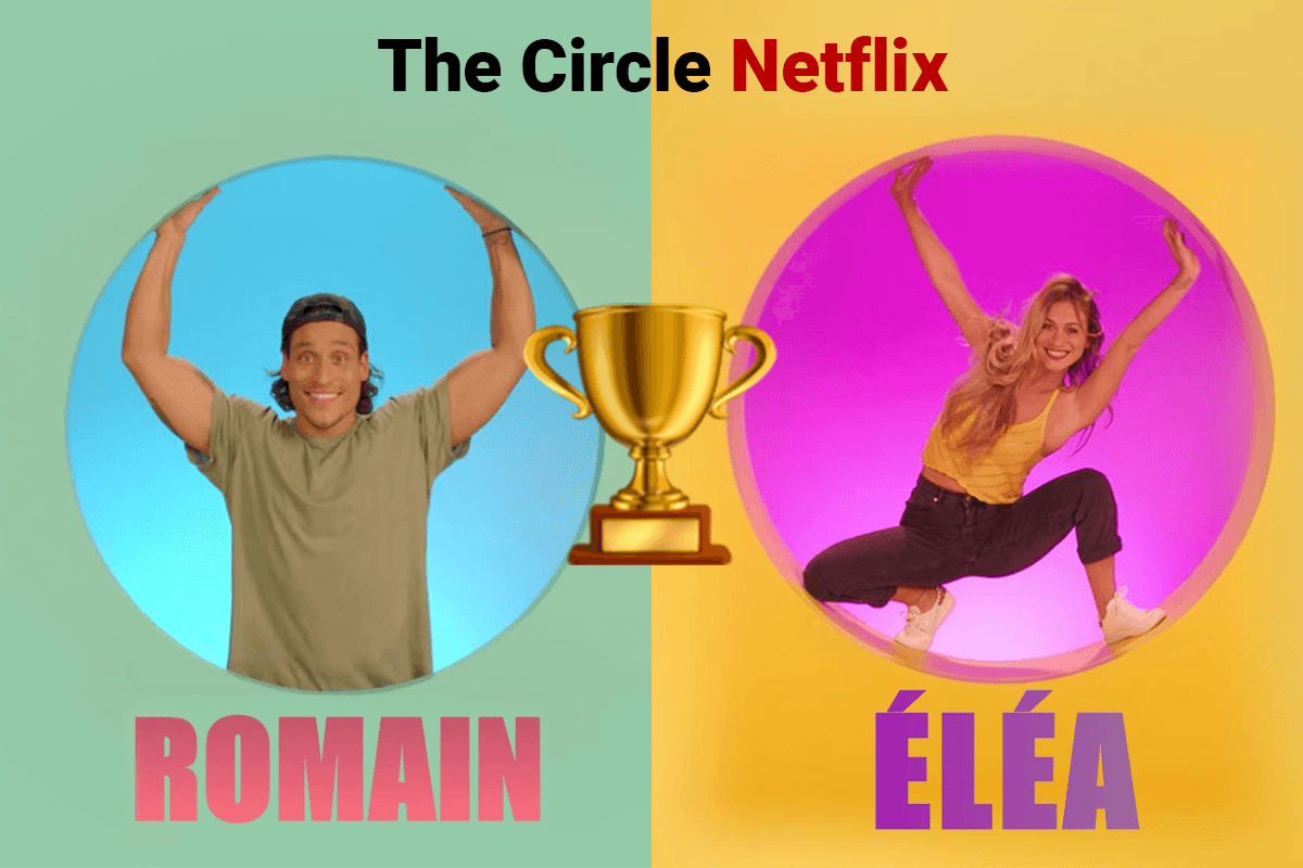 Le gagnant  de The Circle France & le classement final de l'émission