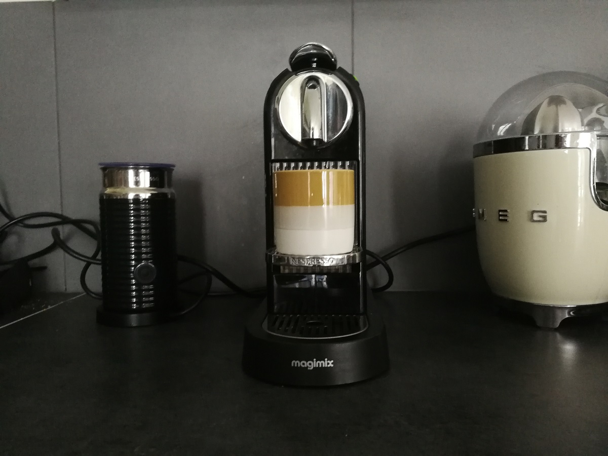 machine nespresso fait du bruit