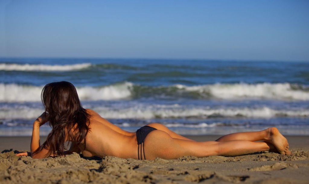 amour sur plage