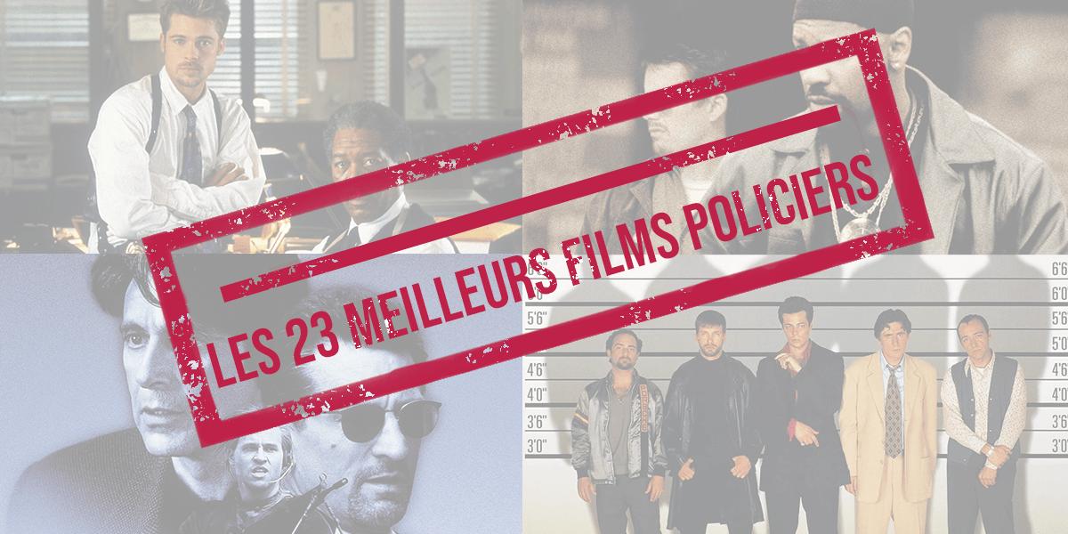 Les 23 meilleurs films policiers : suspense dans votre salon !