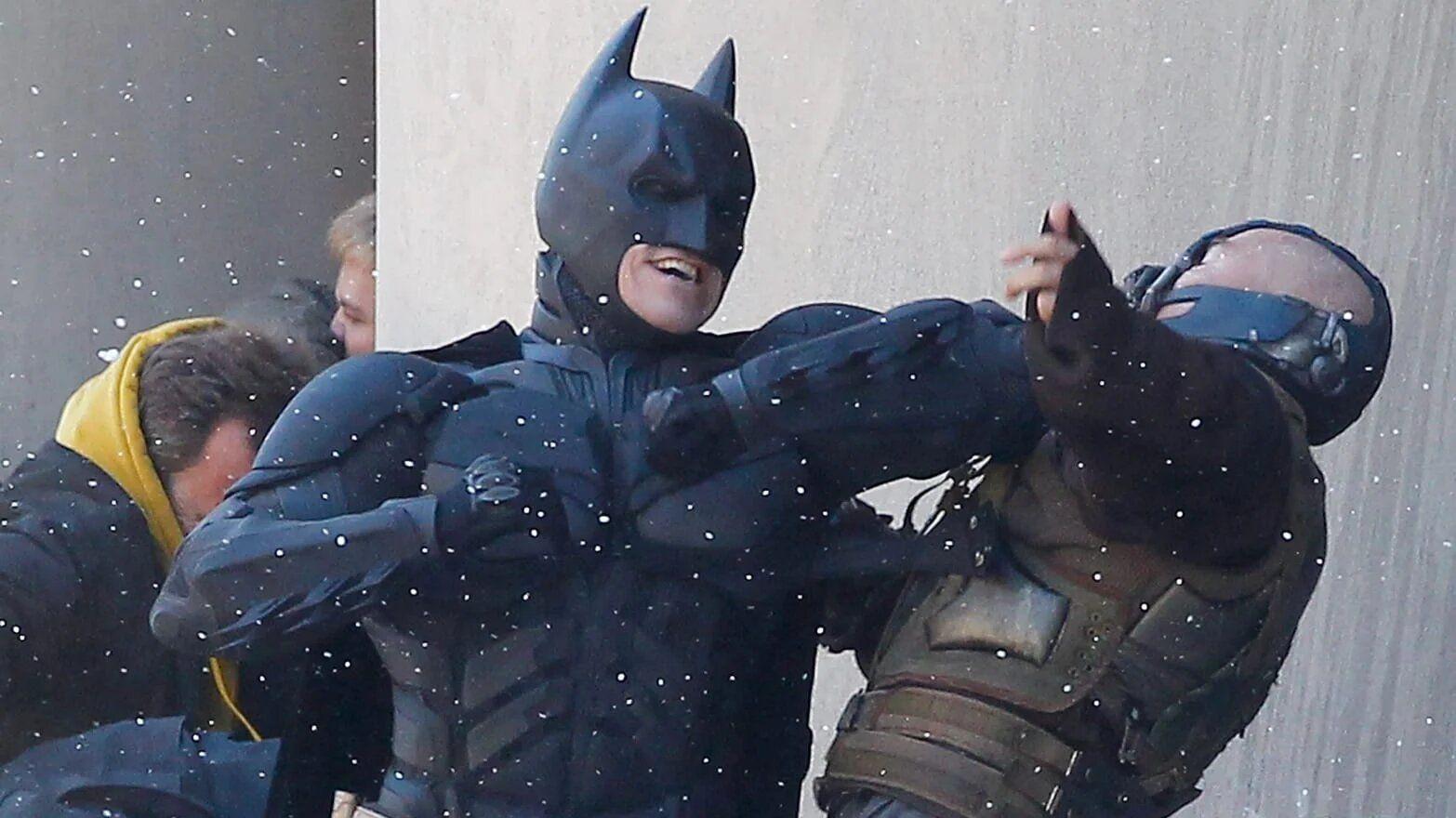 combat batman montre