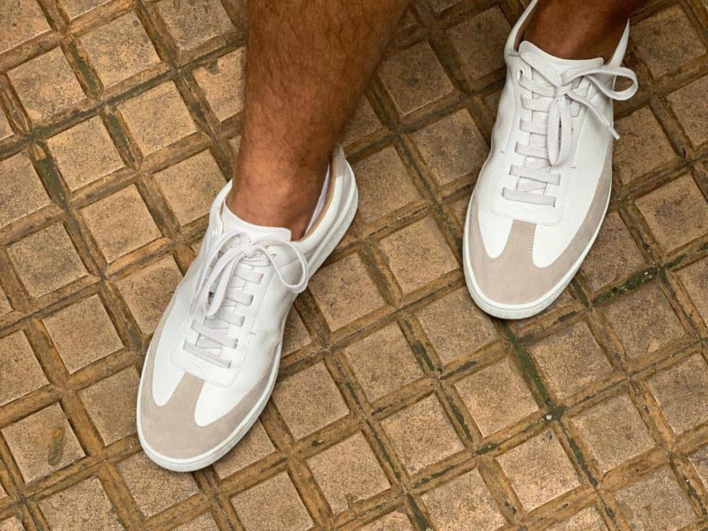 les sneakers in corio