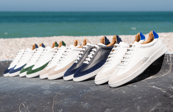 collection Maxime sneakers in corio
