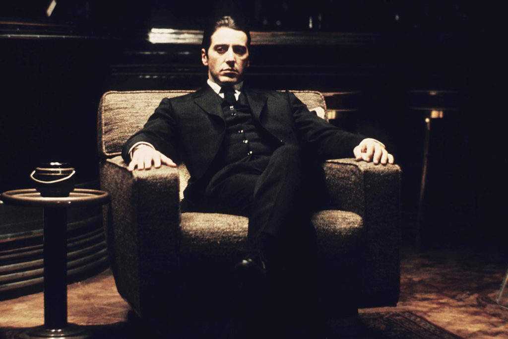 Michael Corleone costume noir