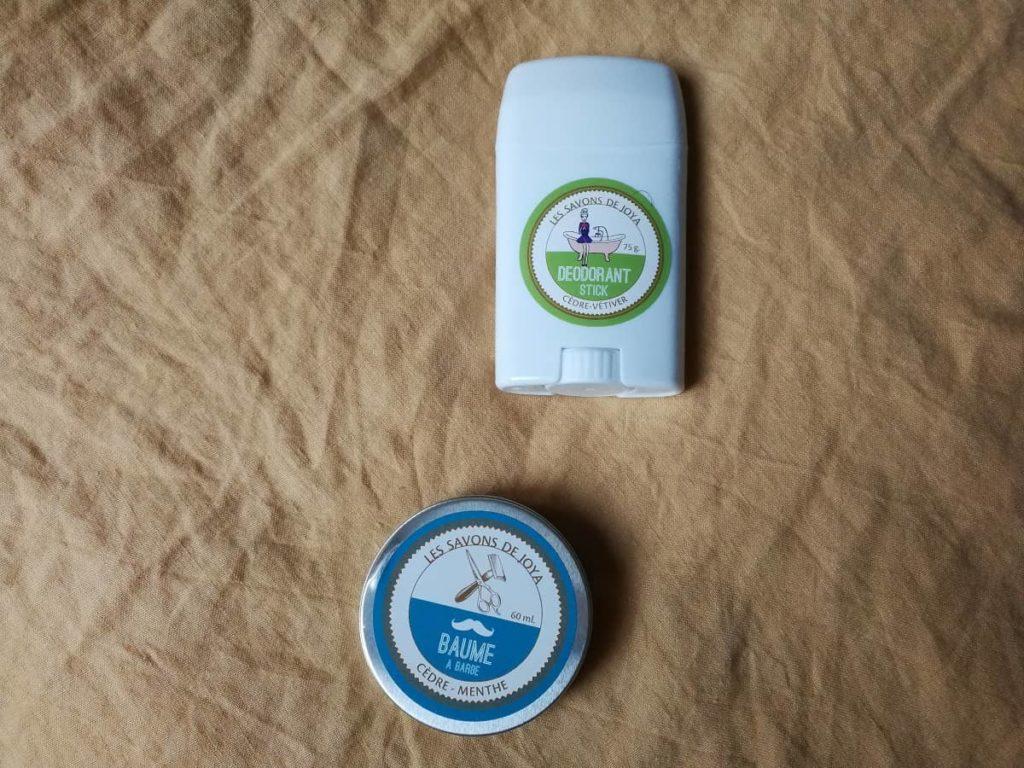 déodorant stick les savons de joya
