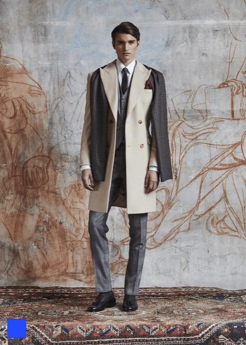 manteau sur mesure homme
