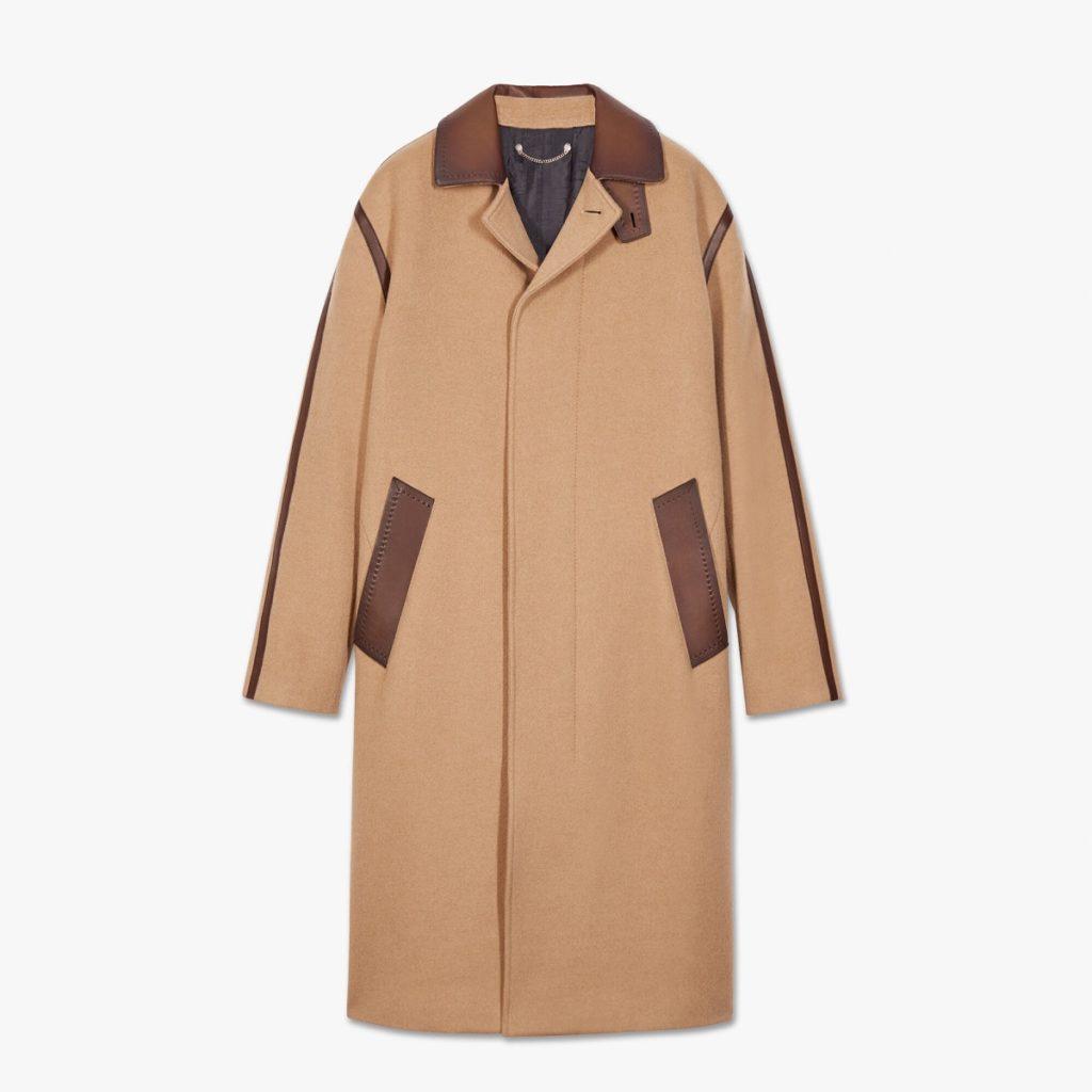 manteau pour homme berluti personnalisation