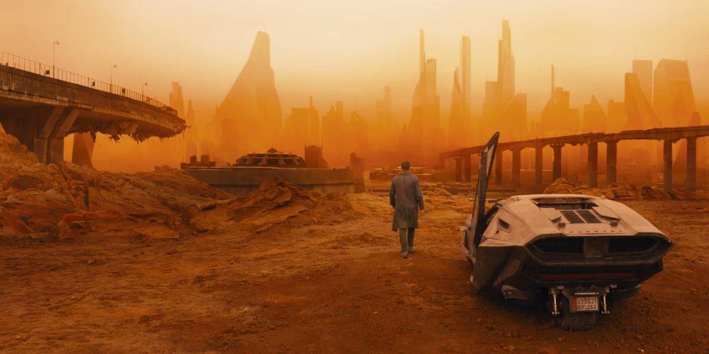 los angeles dans Blade Runner