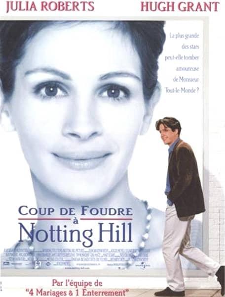 Affiche-film-Coup-de-foudre-à-Notting-Hill