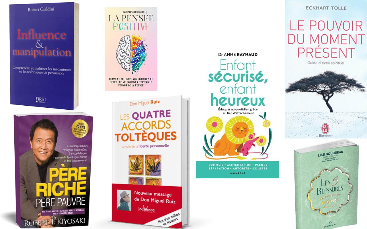Les 7 meilleurs livres sur le développement personnel