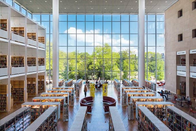 Bibliothèque-de-Malmö