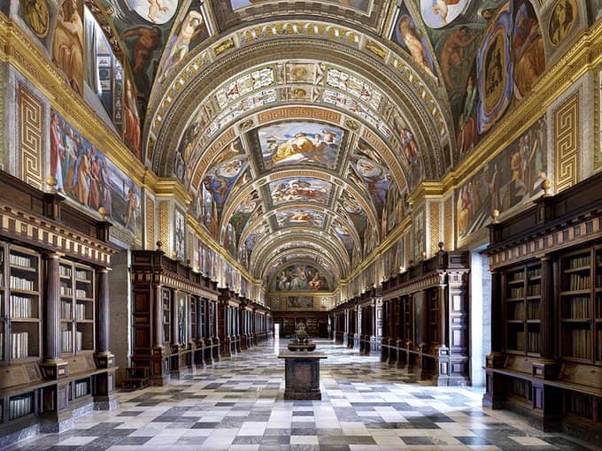 Bibliothèque-royale-Saint-Laurent-de-l'Escurial