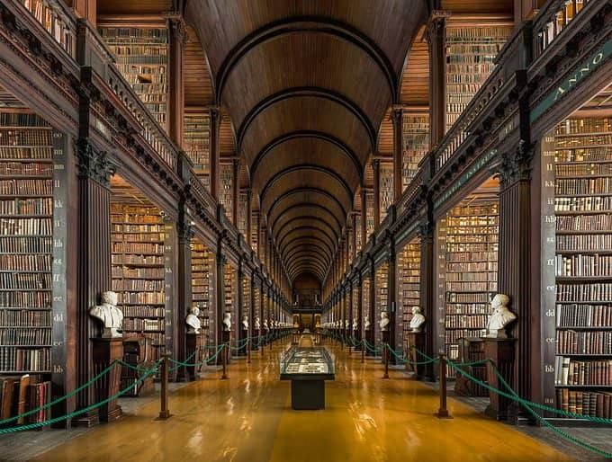 Bibliothèque-du-Trinity-College