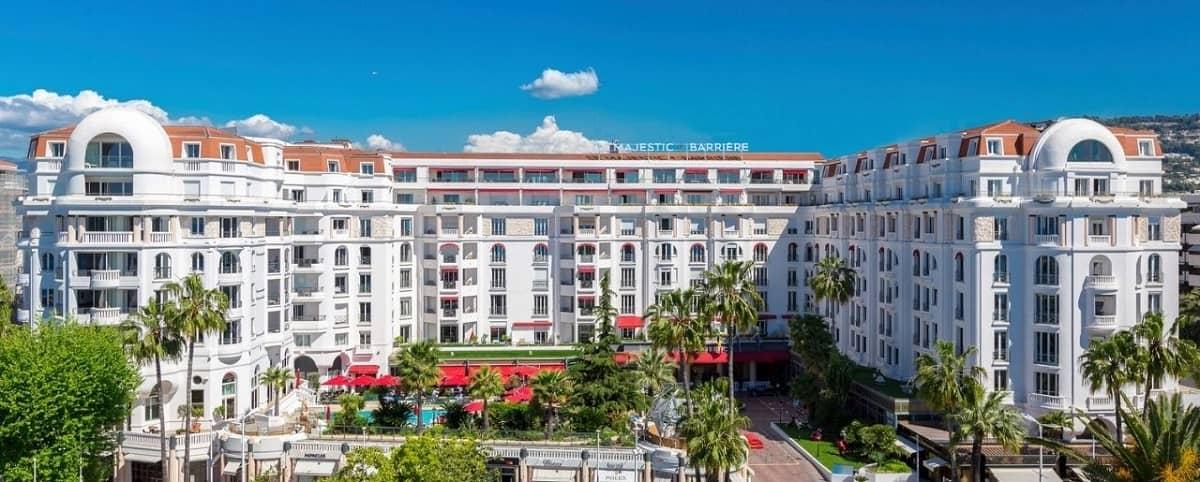 L'Hôtel Majestic à Cannes : l'incontournable de la Riviera