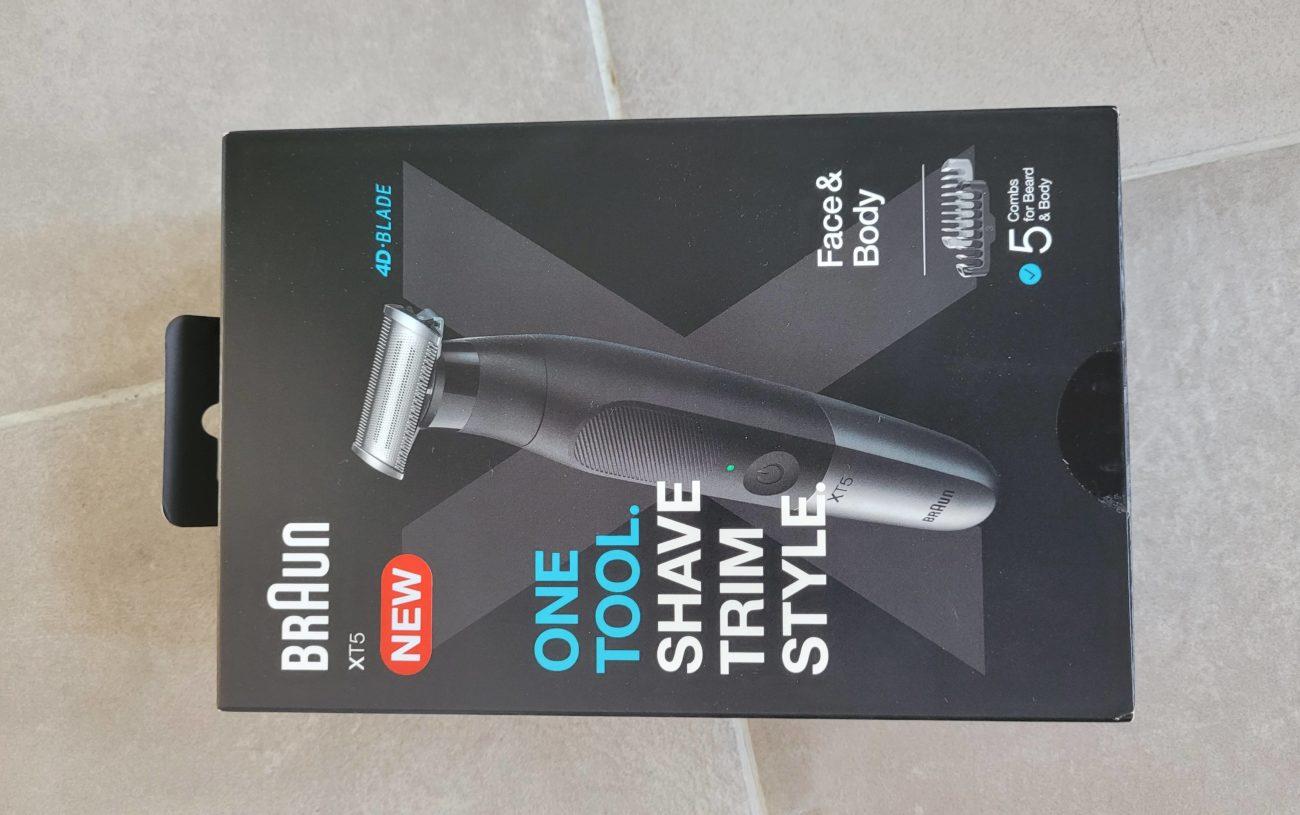 test rasoir Braun Series XT5